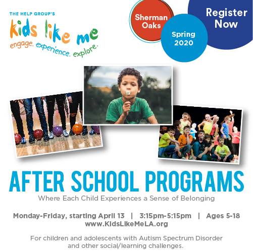 Learn More About After School Programs Starting April13